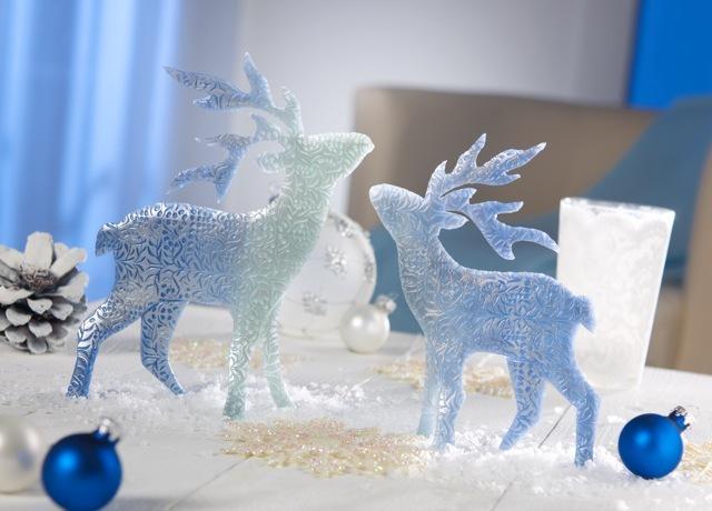 Glitzernde Weihnachtsdekoration mit FIMO effect