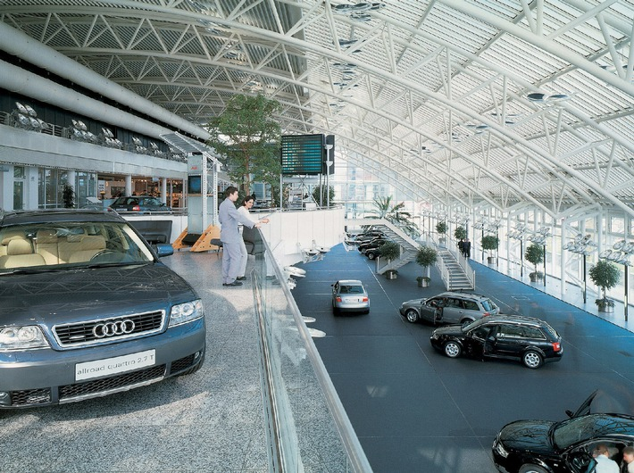Zehn Jahre Audi Kundencenter in Ingolstadt