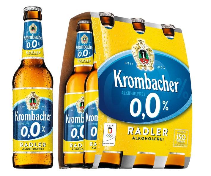 Krombacher setzt Erfolgskurs mit Neuprodukten fort