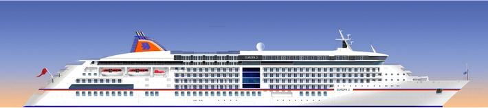 Hapag-Lloyd Kreuzfahrten: MS EUROPA 2 und MS COLUMBUS 2 erweitern die Flotte im Luxus- und Premiumsegment (mit Bild)