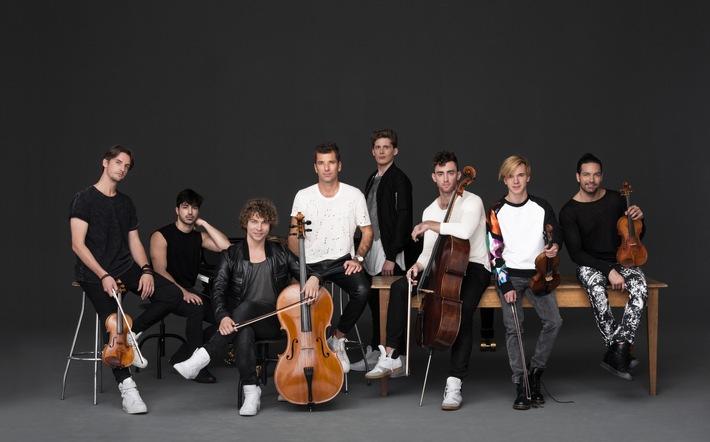 Symphoniacs So Y Kann Klassik Sein Fulminanter Auftritt In Der Primetime Ard Show Bei Florian Silbereisen
