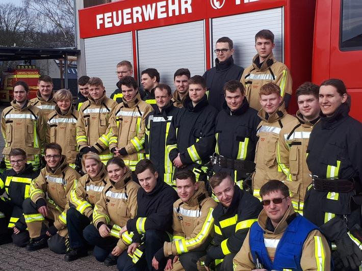 Grundlehrgang Freiwillige Feuerwehr Bottrop