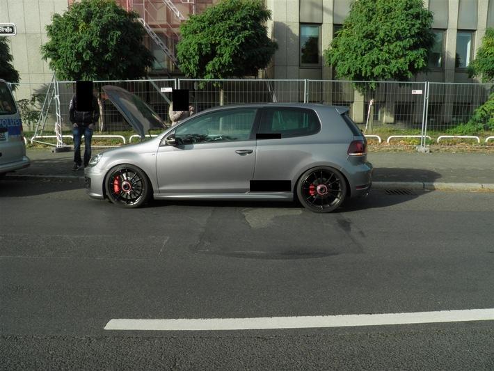 Foto des VW Golf