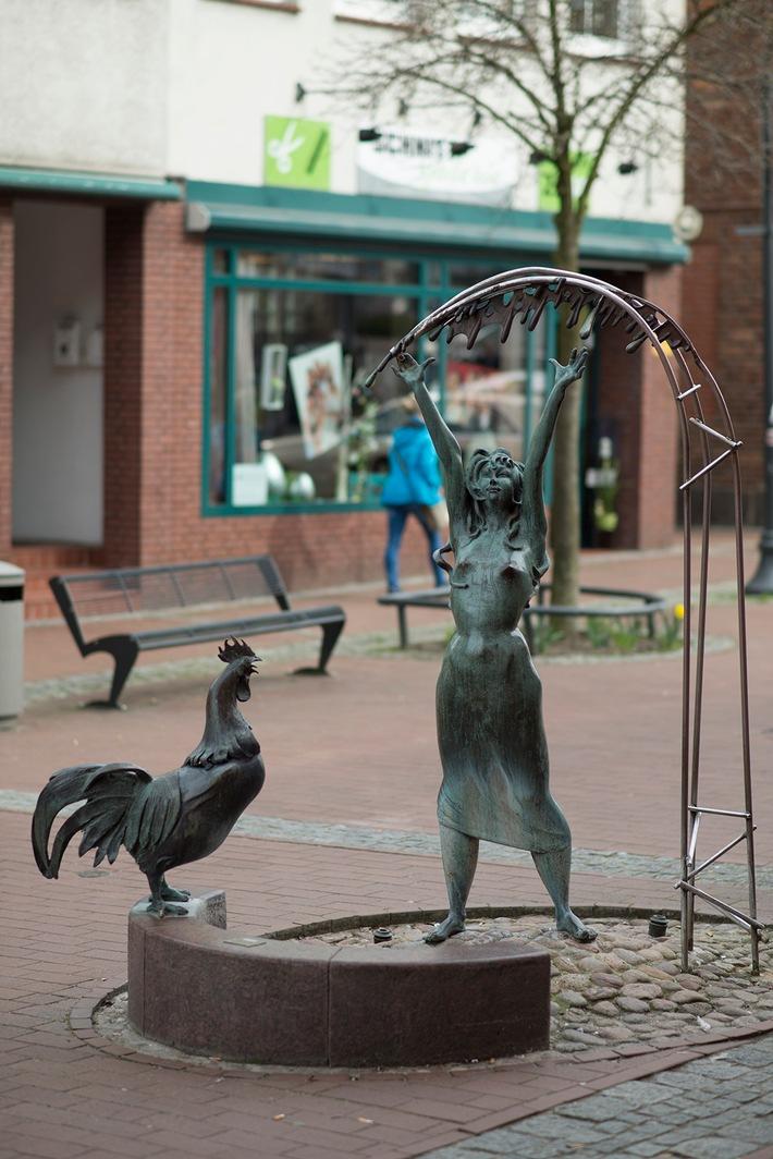POL-SE: Bad Segeberg - Diebe stahlen Bronzehahn