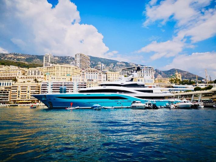 Yacht GO am Steg in Monaco / Weiterer Text über ots und www.presseportal.de/nr/154192 / Die Verwendung dieses Bildes ist für redaktionelle Zwecke unter Beachtung ggf. genannter Nutzungsbedingungen honorarfrei. Veröffentlichung bitte mit Bildrechte-Hinweis.