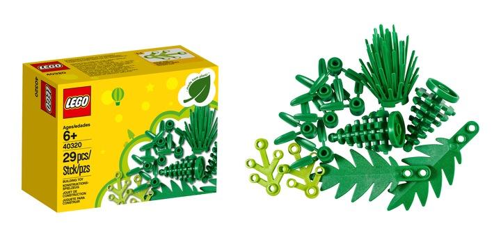 """Die ersten LEGO Elemente aus pflanzlichem Kunststoff ziehen in die Kinderzimmer ein. Weiterer Text über ots und www.presseportal.de/nr/65052 / Die Verwendung dieses Bildes ist für redaktionelle Zwecke honorarfrei. Veröffentlichung bitte unter Quellenangabe: """"obs/LEGO GmbH"""""""