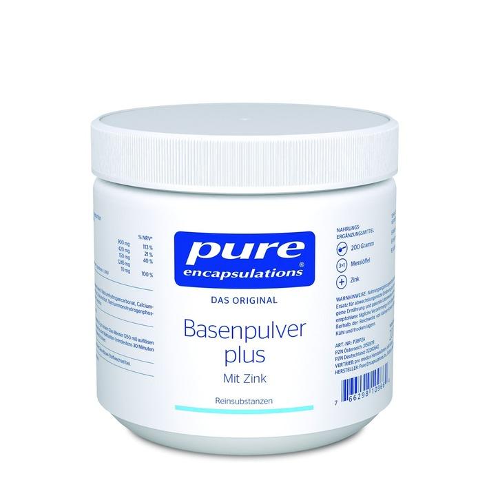 BILD zu OTS - Basenpulver plus mit Zink von Pure Encapsulations