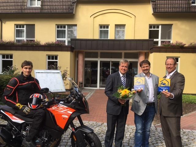 Motorradfreundliche Hotels ausgezeichnet