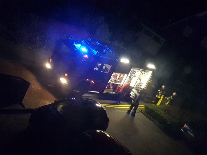 Feuerwehr Horneburg am Brandort
