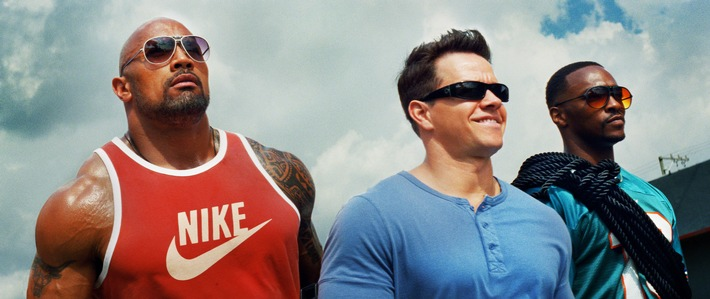 "Lachmuskelprotz: Mark Wahlberg in ""Pain & Gain""  am 6. September 2015"