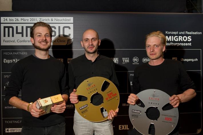 Pour-cent culturel Migros: lancement de la Demotape Clinic 2012 / m4music recherche les meilleures morceaux de musique