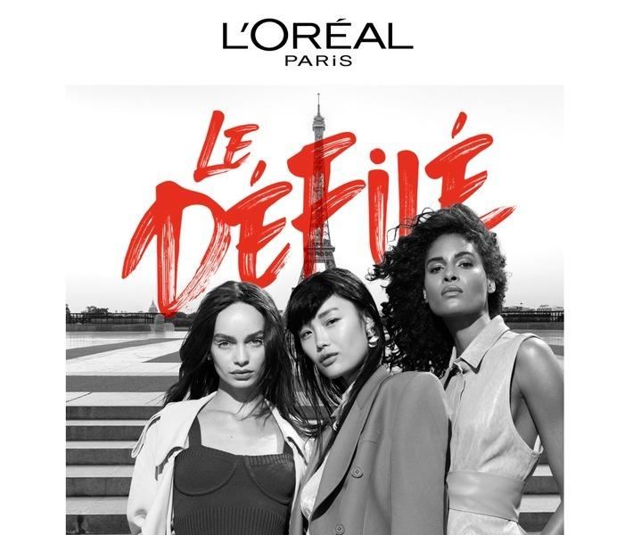 """Fashion Show """"Le Défilé"""" von L'Oréal Paris / Weiterer Text über ots und www.presseportal.de/nr/73372 / Die Verwendung dieses Bildes ist für redaktionelle Zwecke unter Beachtung ggf. genannter Nutzungsbedingungen honorarfrei. Veröffentlichung bitte mit Bildrechte-Hinweis."""