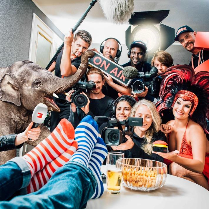 ProSieben sendet am Samstag live aus dem Wohnzimmer eines Zuschauers