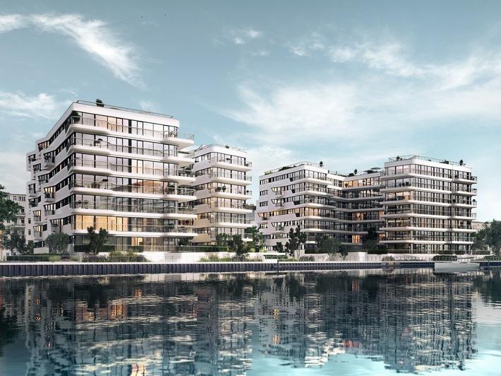 100. Wohnung in WAVE Waterside Living Berlin verkauft