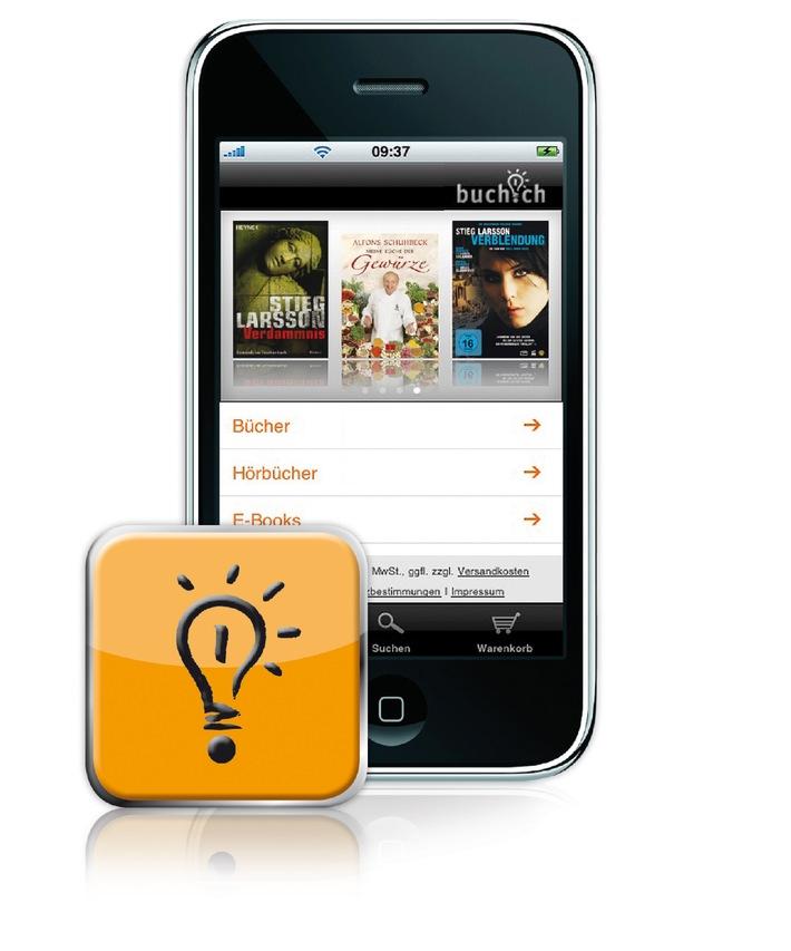 buch.ch launcht iPhone App