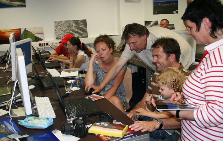 BUNTE Leserin gewinnt mit Familie Fotoabenteuer / Inselzauber Spiekeroog im CEWE FOTOBUCH
