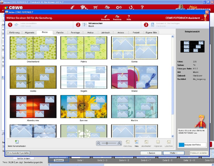 cewe fotobuch software