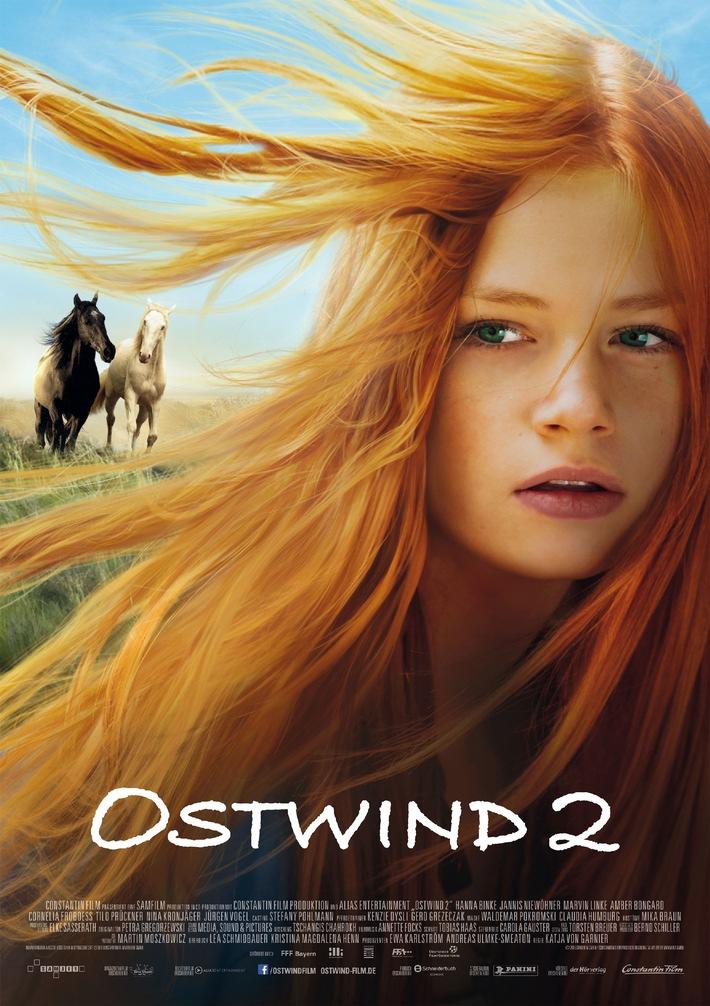 Das Pferdeabenteuer geht weiter: OSTWIND 2 ab 14. Mai 2015 im Kino