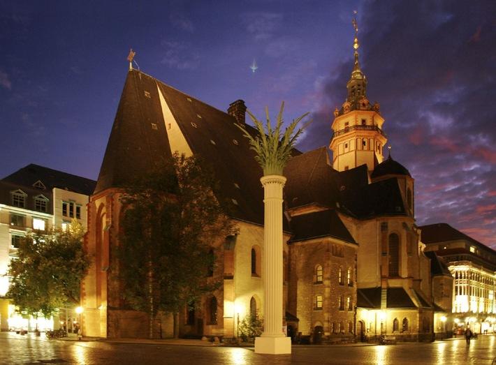 """Leipzig gedenkt am 9. Oktober mit dem """"Lichtfest 2009"""" der Friedlichen Revolution (mit Bild)"""