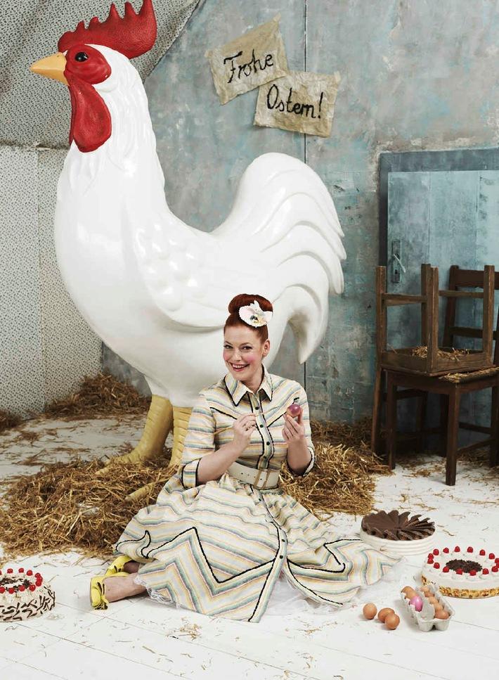 """Auf ins Oster-Backparadies: Enie van de Meiklokjes startet am Samstag, 12. April 2014, um 13.30 Uhr mit der 4. Staffel """"Sweet & Easy - Enie backt"""" auf sixx"""