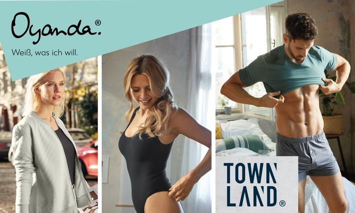 Kaufland führt Bekleidungsmarken Oyanda und Townland ein / Hochwertige Damen- und Herrenbekleidung runden das eigene Textilsortiment ab (FOTO)