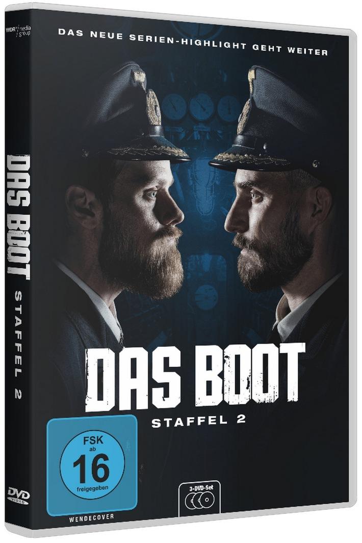 WDR mediagroup - Release Company präsentiert: Das Boot - Staffel 2 ab 27. November auf DVD und Blu-ray erhältlich