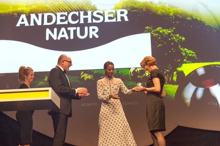 Auszeichnung 'Deutscher Nachhaltigkeitspreis 2018': Deutschlands 'Nachhaltigste Marke' ist ANDECHSER NATUR