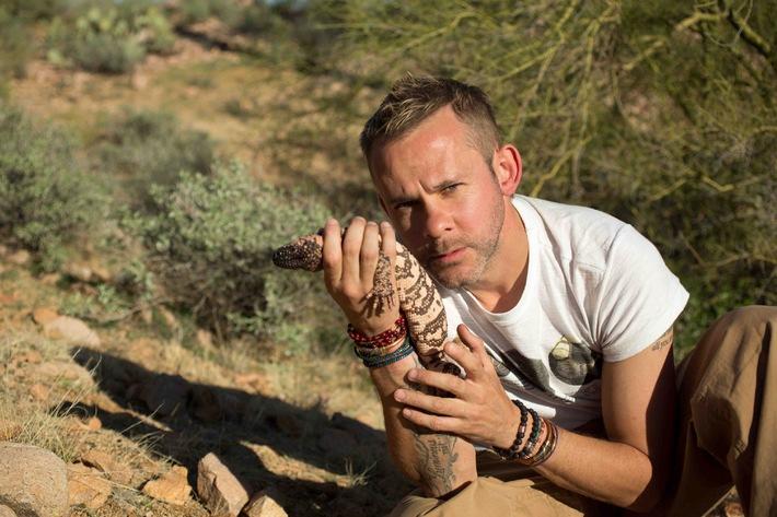 """What the f*** is Wetapunga? ProSieben MAXX zeigt """"Wild Things mit Dominic Monaghan"""" - ab 23.Oktober 2014 in deutscher Erstausstrahlung"""
