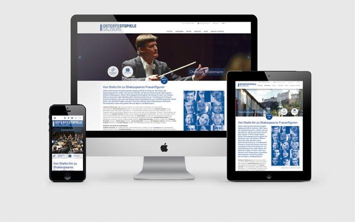 Osterfestspiele Salzburg mit neuer ncm-Webseite - BILD