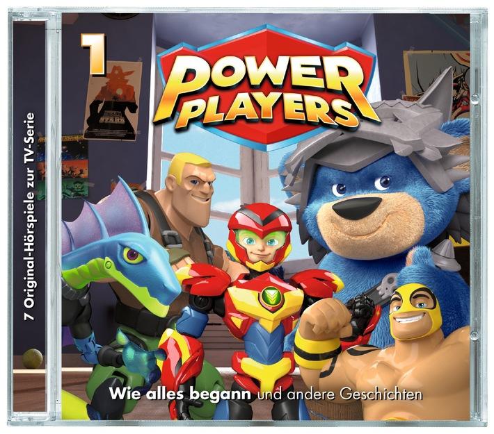 WDR mediagroup - Release Company präsentiert: Power Players Staffel 1 und Staffel 2 digital und auf DVD erhältlich / Power Players CD 1 / Weiterer Text über ots und www.presseportal.de/nr/59521 / Die Verwendung dieses Bildes ist für redaktionelle Zwecke honorarfrei. Veröffentlichung bitte unter Quellenangabe: