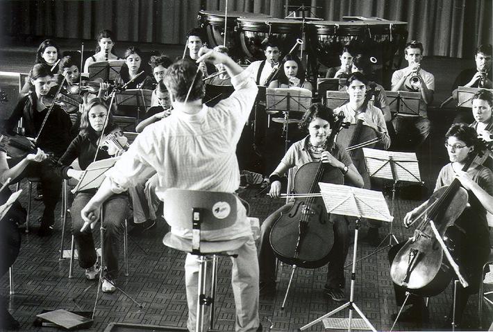 Schweizer Jugend-Sinfonie-Orchester auf Tournee