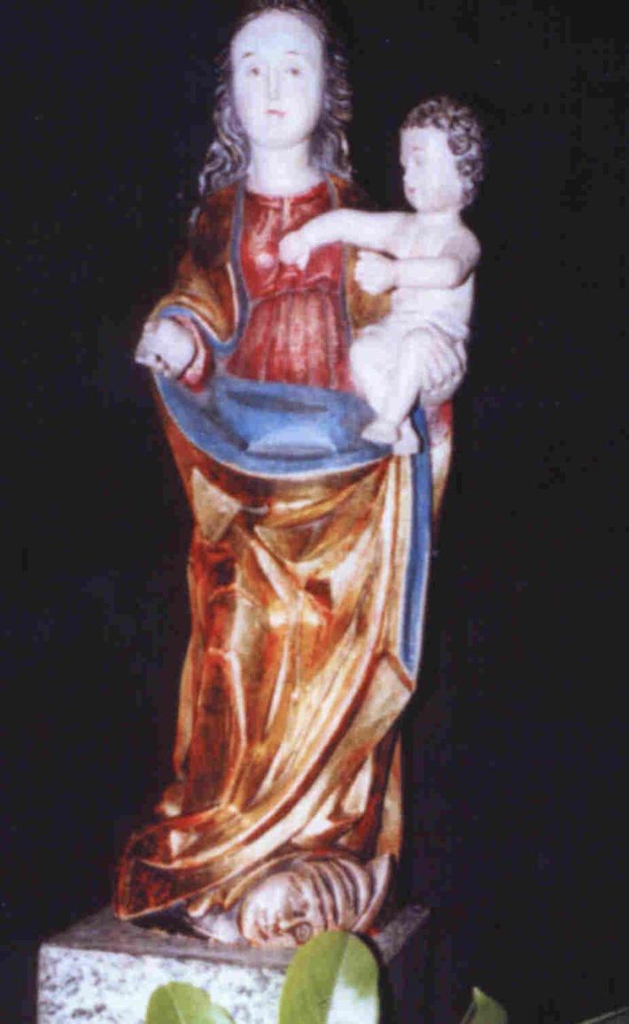 POL-F: 030916 - 0948    Gallusviertel:  Diebstahl einer Madonna.