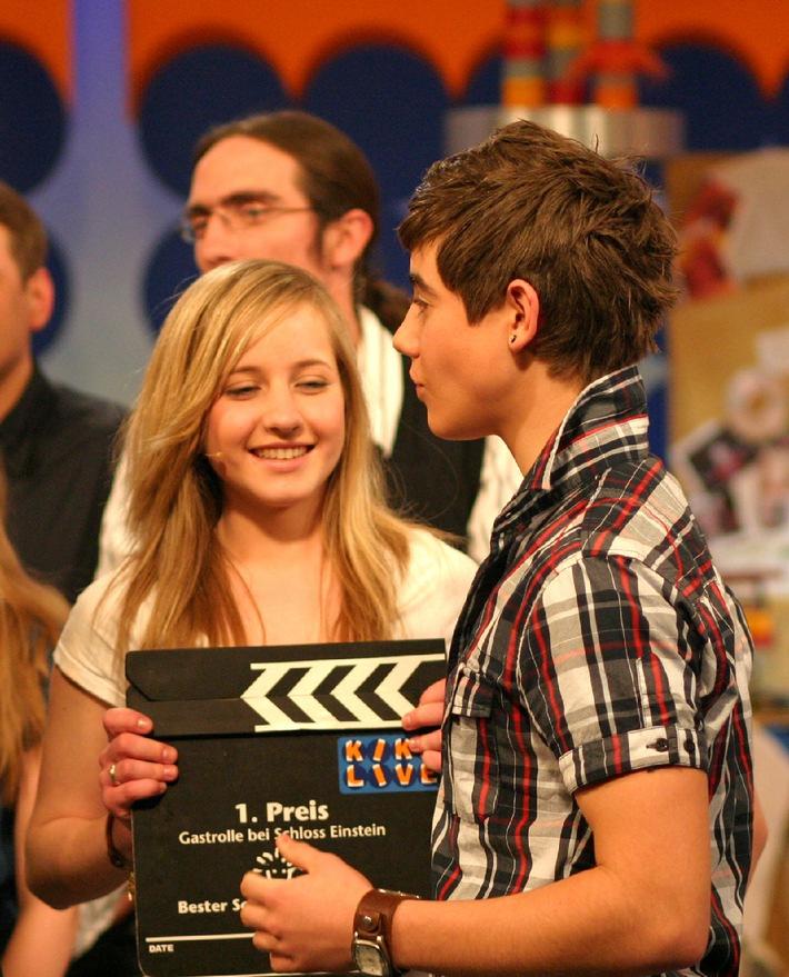Gewinnerin Der Kika Live Aktion Bester Schauspieler Gesucht