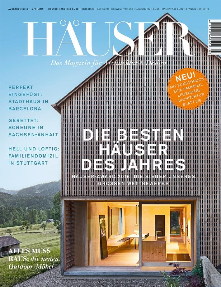 h user award 2016 die besten einfamilienh user europas. Black Bedroom Furniture Sets. Home Design Ideas