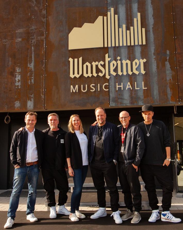 """Presseinformation: Let the show begin: Fantastischen Vier bringen """"Warsteiner Music Hall"""" zum Beben"""