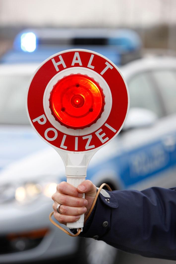 Symbolbild: allgemeine Verkehrskontrolle der Polizei