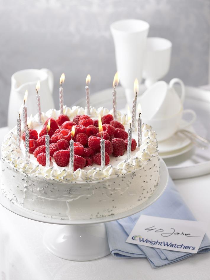 Weight Watchers Happy Birthday Torte Mit Bild Presseportal