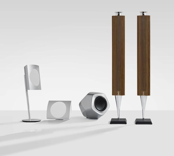 Bang & Olufsen stellt neue Kollektion bahnbrechender drahtloser High-End-Lautsprecher mit neuem WiSA-Wireless-Standard vor (BILD)