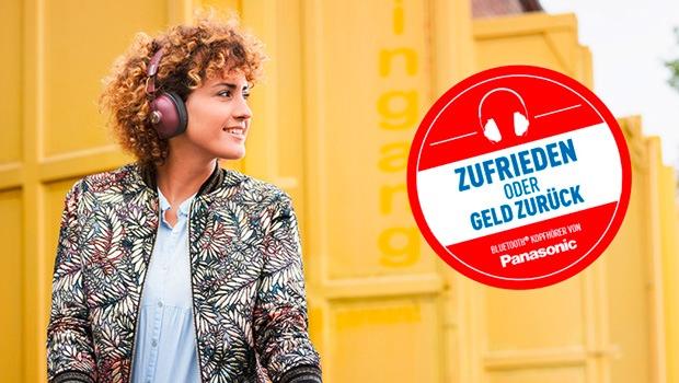 Geld-Zurück-Aktion für Kopfhörer von Panasonic / Kunden profitieren von Panasonic Handels-Aktion (FOTO)