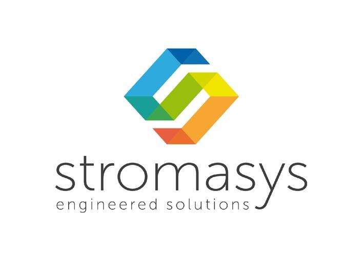 """Stromasys new logo - 2015 / Texte complémentaire par OTS et sur www.presseportal.ch/fr/pm/100057083 / L'utilisation de cette image est pour des buts redactionnels gratuite. Publication sous indication de source: """"obs/Stromasys"""""""