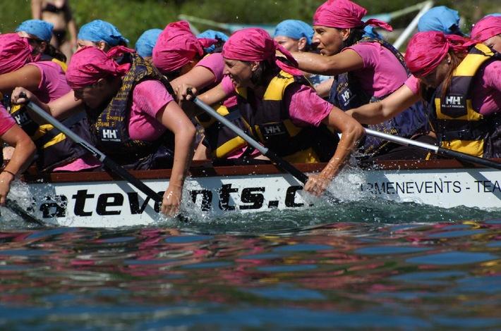 Im Zeichen des Drachen - Finale des Dragonboat Cup in Biel