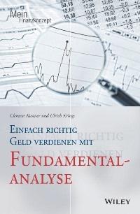 """Cover """"Einfach richtig Geld verdienen mit Fundamentalanalyse"""""""