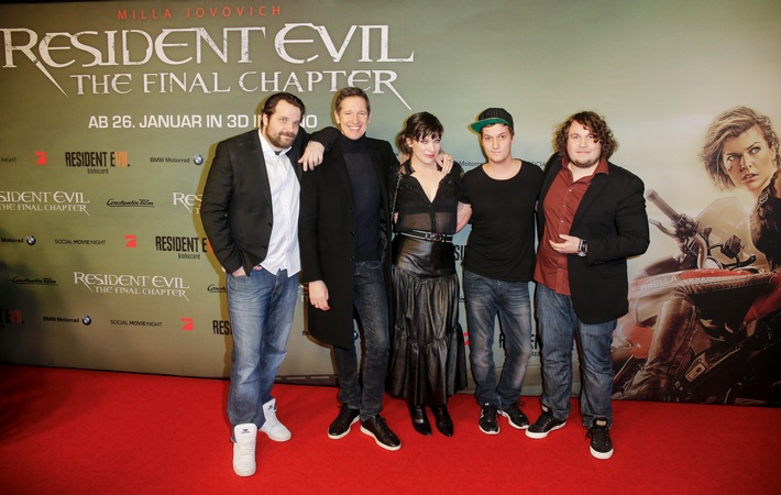 RESIDENT EVIL: THE FINAL CHAPTER / Social Movie Night in Berlin