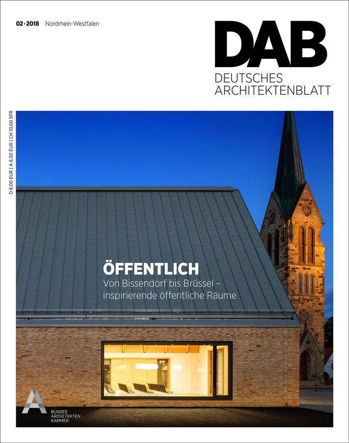 deutschlands gr te fachzeitschrift f r architektur mit