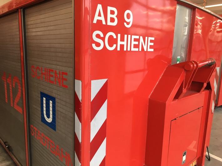 FW-MH: Gemeldeter U-Bahn Brand
