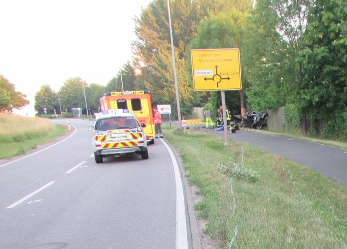 POL-PPMZ: Tragischer Verkehrsunfall