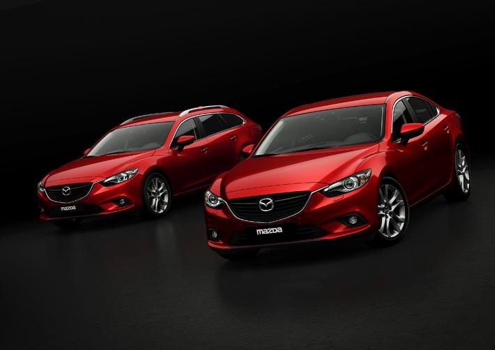 Mazda6: pronta al via ...