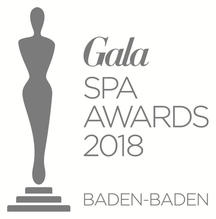 """Logo GALA SPA AWARDS 2018 / Weiterer Text über ots und www.presseportal.de/nr/6106 / Die Verwendung dieses Bildes ist für redaktionelle Zwecke honorarfrei. Veröffentlichung bitte unter Quellenangabe: """"obs/Gruner+Jahr, Gala"""""""