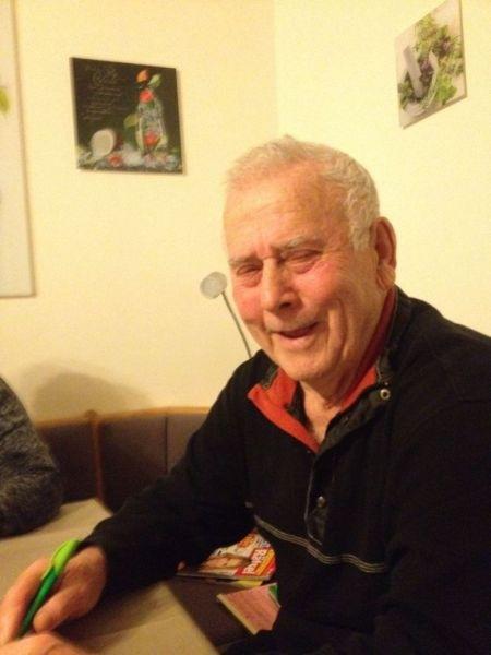 Lichtbild des 83-jährigen Rentners aus dem Jahr 2017