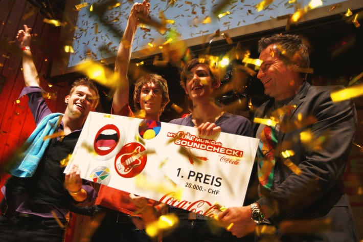 "Oltener Band ""Rag Dolls"" gewinnt den MyCokemusic Soundcheck 2012"